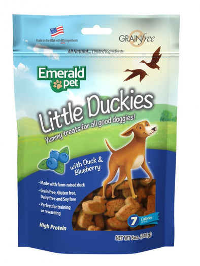 Emerald Pet Little Duckies Blueberry Dog Treats