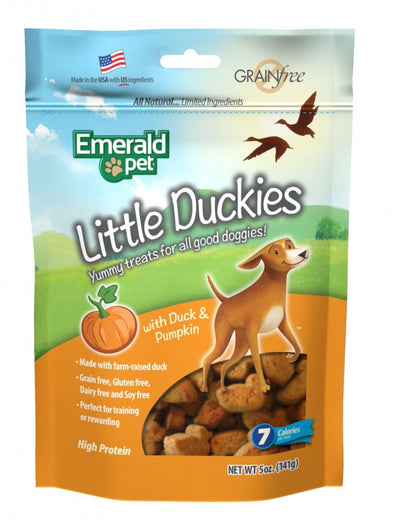Emerald Pet Little Duckies Pumpkin Dog Treats