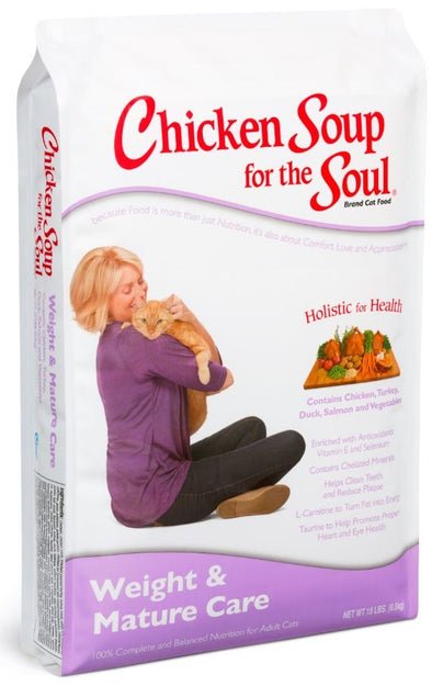 Chicken Soup For The Soul Weight and Mature Care Dry Cat Food