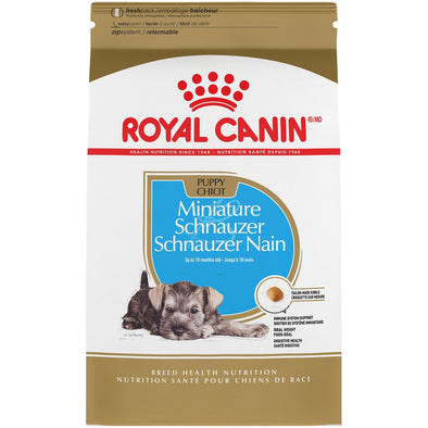 Royal Canin Breed Health Nutrition Miniature Schnauzer Puppy Dry Dog Food