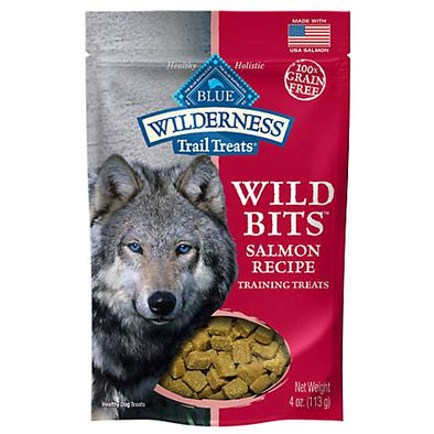 Blue Buffalo Wilderness Trail Treats Salmon Wild Bits Dog Treats