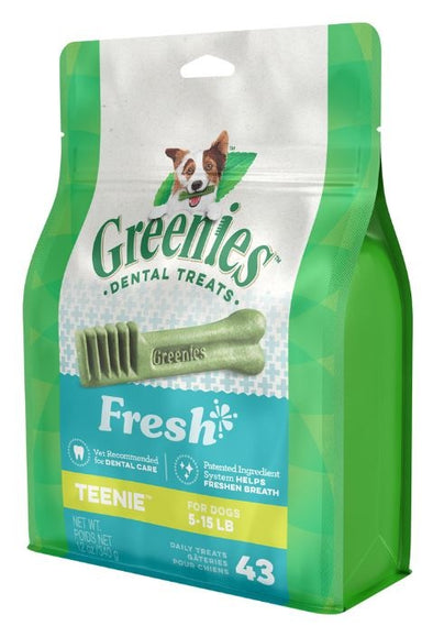 Greenies Teenie Mint Dental Dog Chews