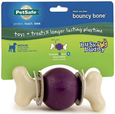 PetSafe Busy Buddy Bouncy Bone Dog Toy