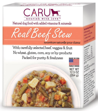 Caru Grain Free Real Beef Stew for Dogs