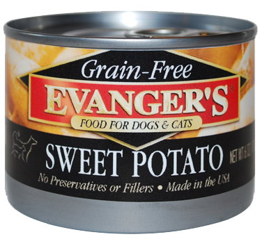 Evanger's Grain Free Sweet Potato Canned Dog & Cat Food