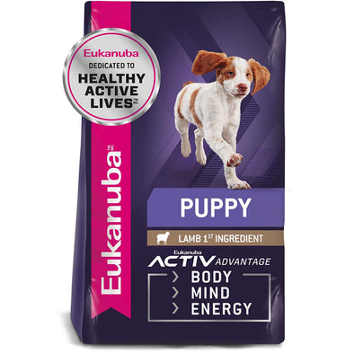 Eukanuba Puppy Early Advantage Lamb & Rice Formula Dry Dog Food