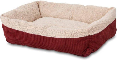 Aspen Pet Warm Spice & Cream Self Warming Bed for Dogs & Cats