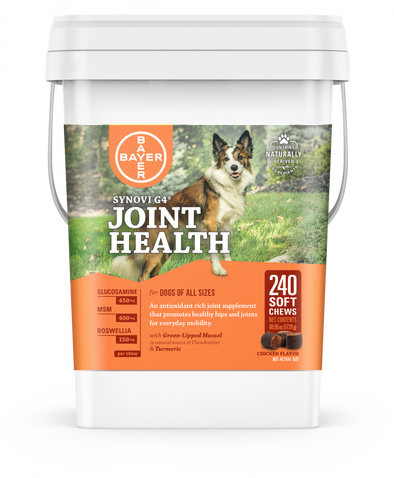 Synovi G4 Joint Health Soft Chews for Dogs