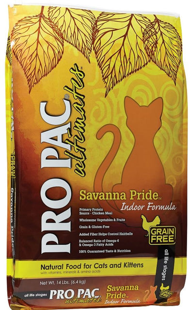 PRO PAC Grain Free Ultimates Savanna Pride Dry Cat Food