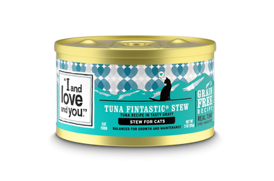 I And Love And You Grain Free Tuna Fintastic Stew Canned Cat Food