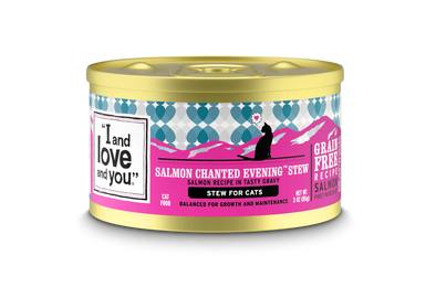 I And Love And You Salmon Chanted Evening Stew Canned Cat Food