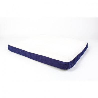 BioBubble Deluxe Navy Dog Bed