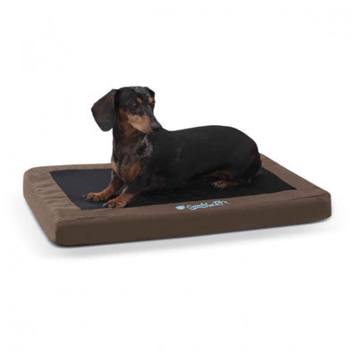 K&H Pet Products Comfy n' Dry Chocolate Indoor-Outdoor Pet Bed