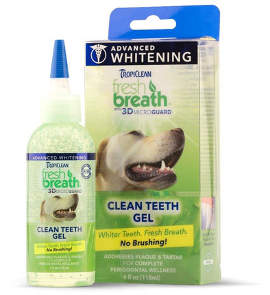 Tropiclean Fresh Breath Advanced Whitening Gel for Dogs