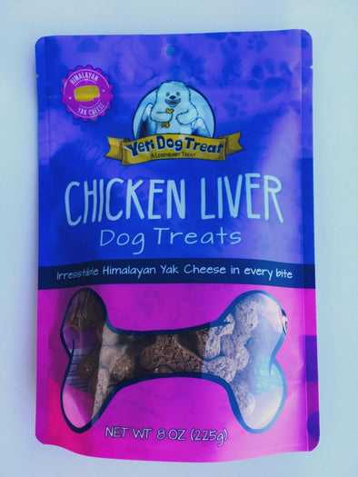 Yeti Chicken Liver Dog Cookies