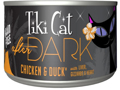 Tiki Cat After Dark Grain Free Chicken and Duck Canned Cat Food