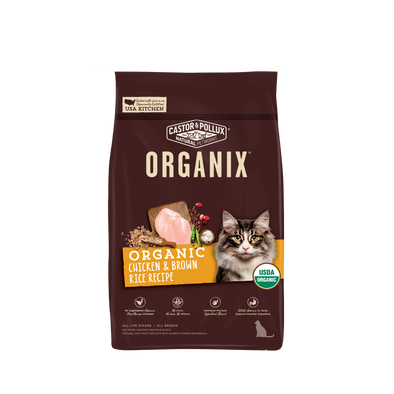 Castor and Pollux Organix Chicken and Brown Rice Dry Cat Food