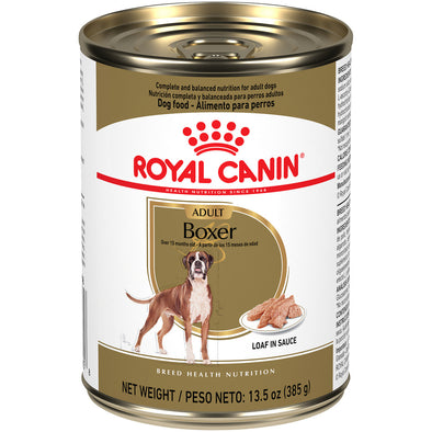 Royal Canin Breed Health Nutrition Adult Boxer Canned Dog Food