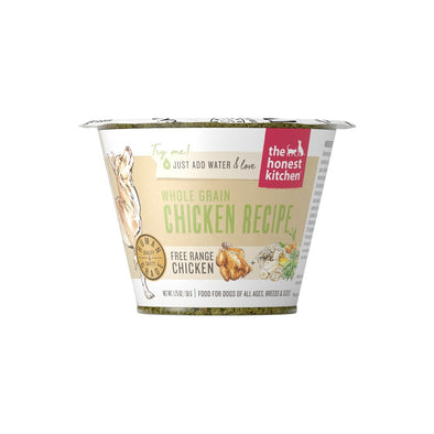 The Honest Kitchen Whole Grain Chicken Recipe Dehydrated Dog Food Cups