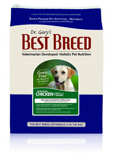 Dr. Gary's Best Breed Grain Free Holistic Chicken with Fruits & Vegetables Dry Dog Food