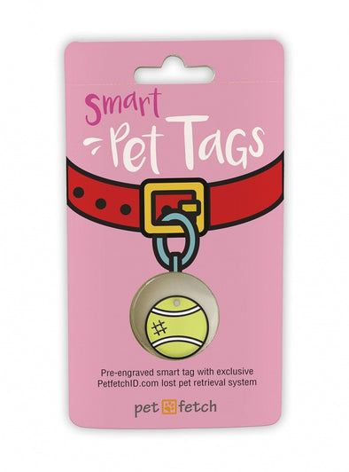 Pet Fetch Tennis Ball Emoji Smart Pet Tag