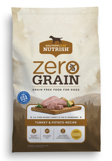 Rachael Ray Nutrish Zero Grain Natural Turkey & Potato Recipe Dry Dog Food