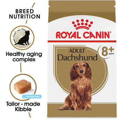 Royal Canin Dachshund 8+ Adult Dry Dog Food