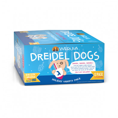 Weruva Classic Dreidel Dogs! Holiday Variety Pack Canned Dog Food