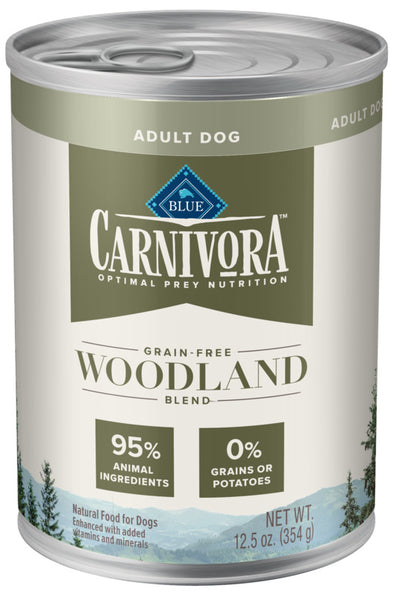 Blue Buffalo Carnivora Woodland Blend Grain-Free Adult Canned Dog Food
