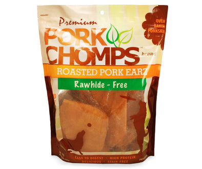 Premium Pork Chomps Premium Roasted Pork Ears Dog Treats