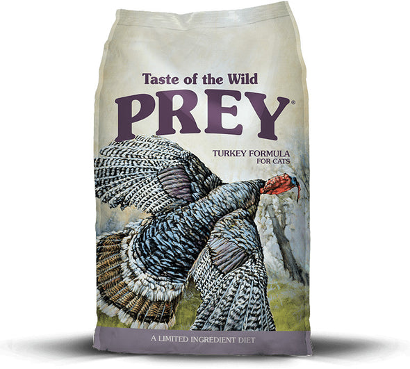 Taste Of The Wild Grain Free Prey Limited Ingredient Turkey Dry Cat Food