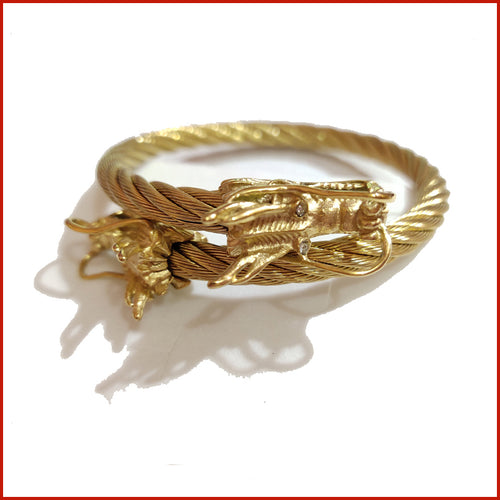 🐉LUCKY DRAGON BANGLE🐉