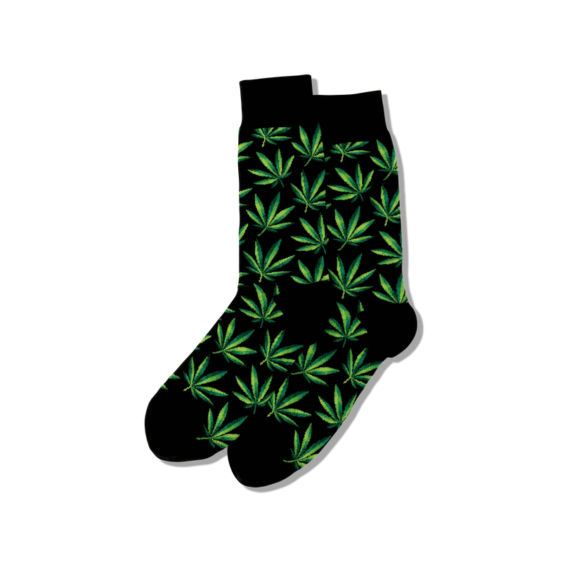Hot Sox Men's Marijuana Socks