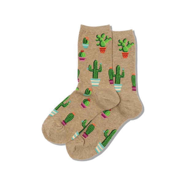 Hot Sox Women's Cactus Socks