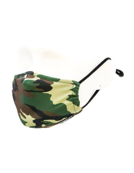 Face Mask | Kids Fabric Face Covering Mask- Camo