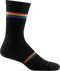 MEN'S PRISM CREW LIGHT CUSHION SOCKS LARGE