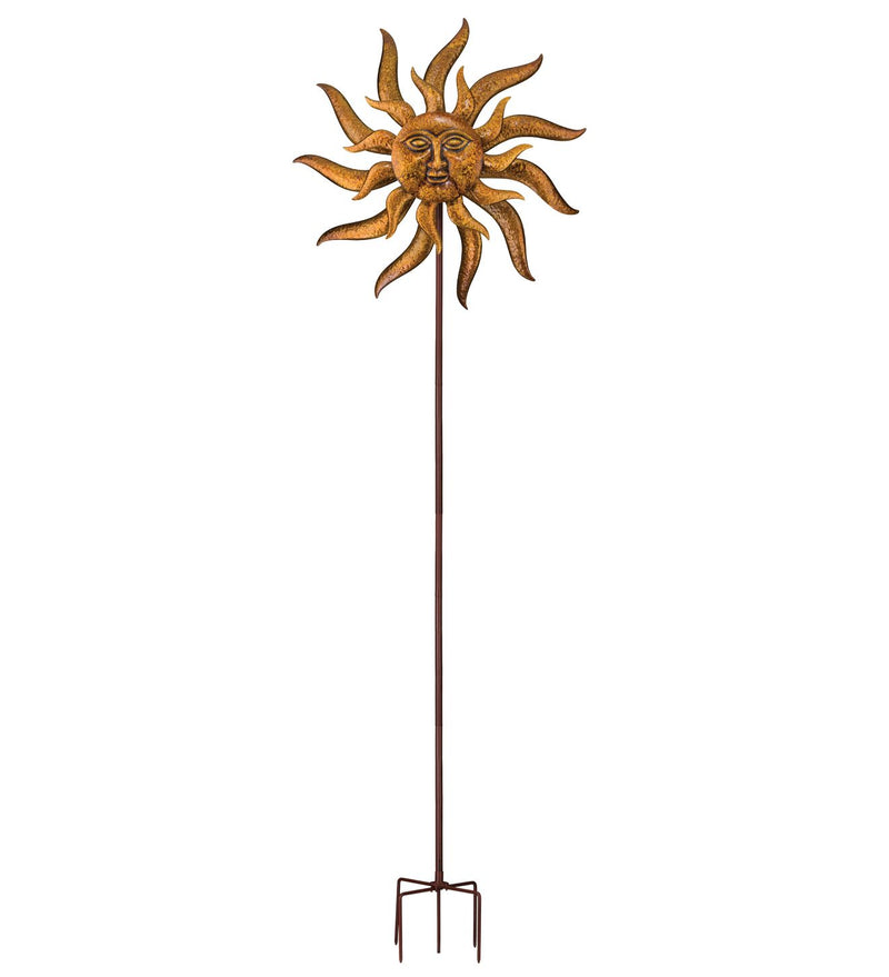 Sun Face Wind Spinner 32""