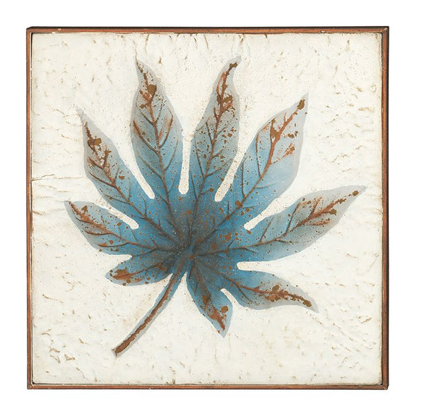 Blue Maple Wall Decor 16""