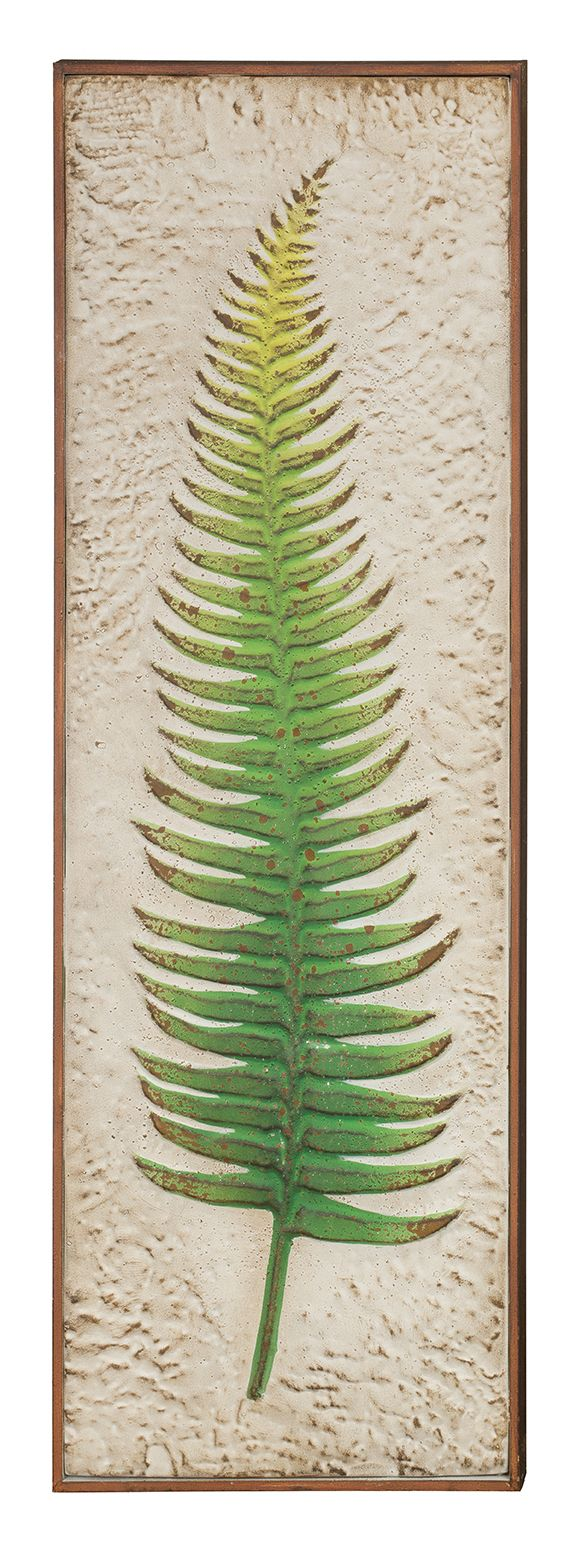 Green Fern wall Decor 36""