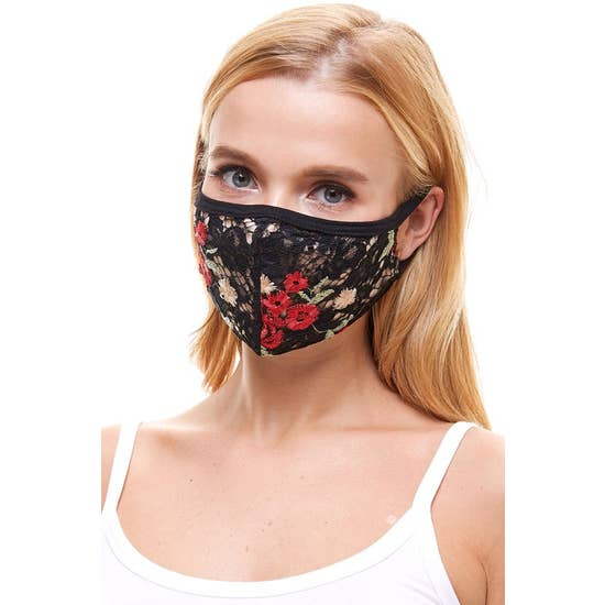 Fashion Sexy Lace Mask Multi