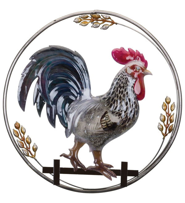 Luster Wall Decor - Rooster