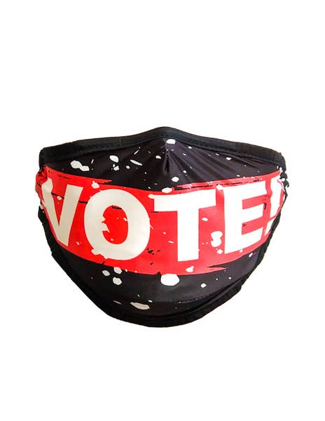 Vote Face Mask