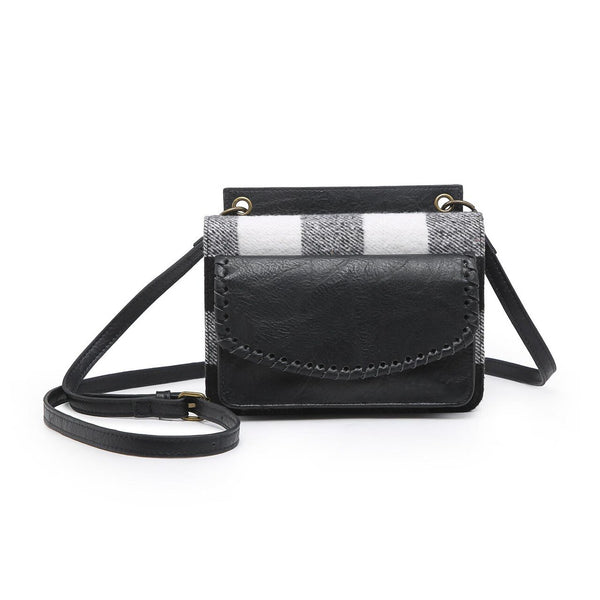 Vegan Evelyn Crossbody/Wallet