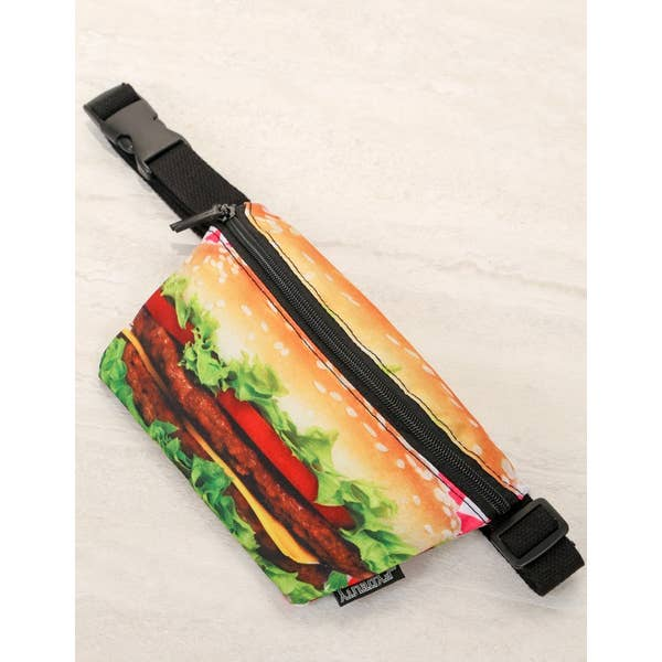 Hamburger Ultra-Slim Fanny Pack