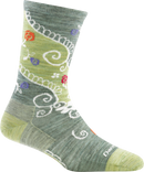 WOMEN'S TWISTED GARDEN CREW LIGHT SOCKS