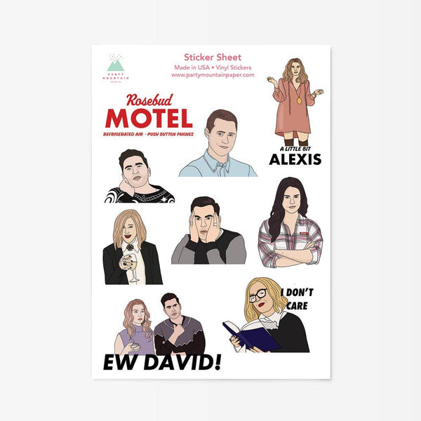 Schitt's Creek Sticker Pack