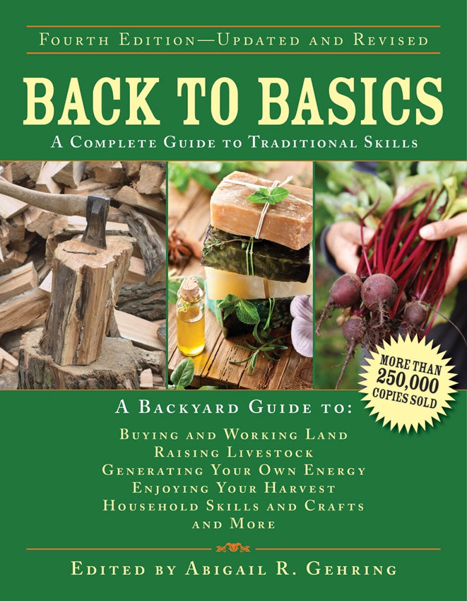 Back To Basics A Complete Guide To Traditional Skills