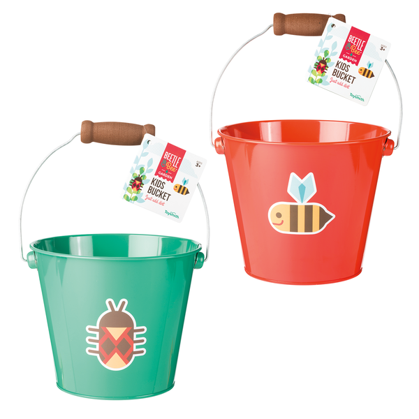 Beetle & Bee Kids Buckets