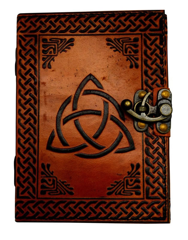 Triquetra Celtic Knot Journal