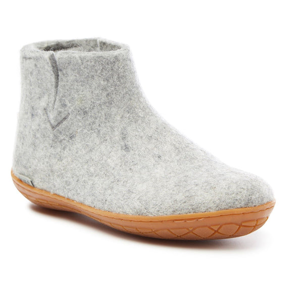 Glerups Wool Boot Rubber Sole